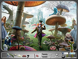 Alice in Wonderland – Hidden Objects