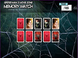 Spider-man 3 Memory Match