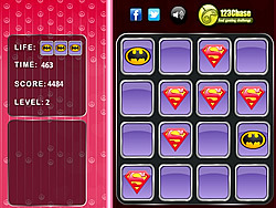 Superman Logo – Memory Match