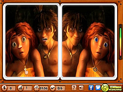 The Croods – Spot the Difference