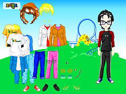 Themepark Boy Dressup